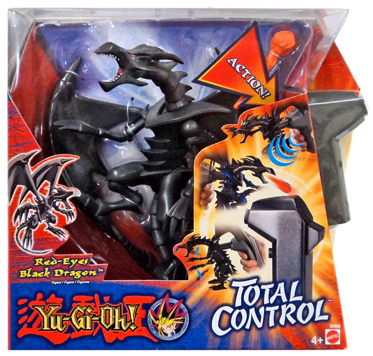 YuGiOh Total Control Red-Eyes Black Dragon 7 Action Figure