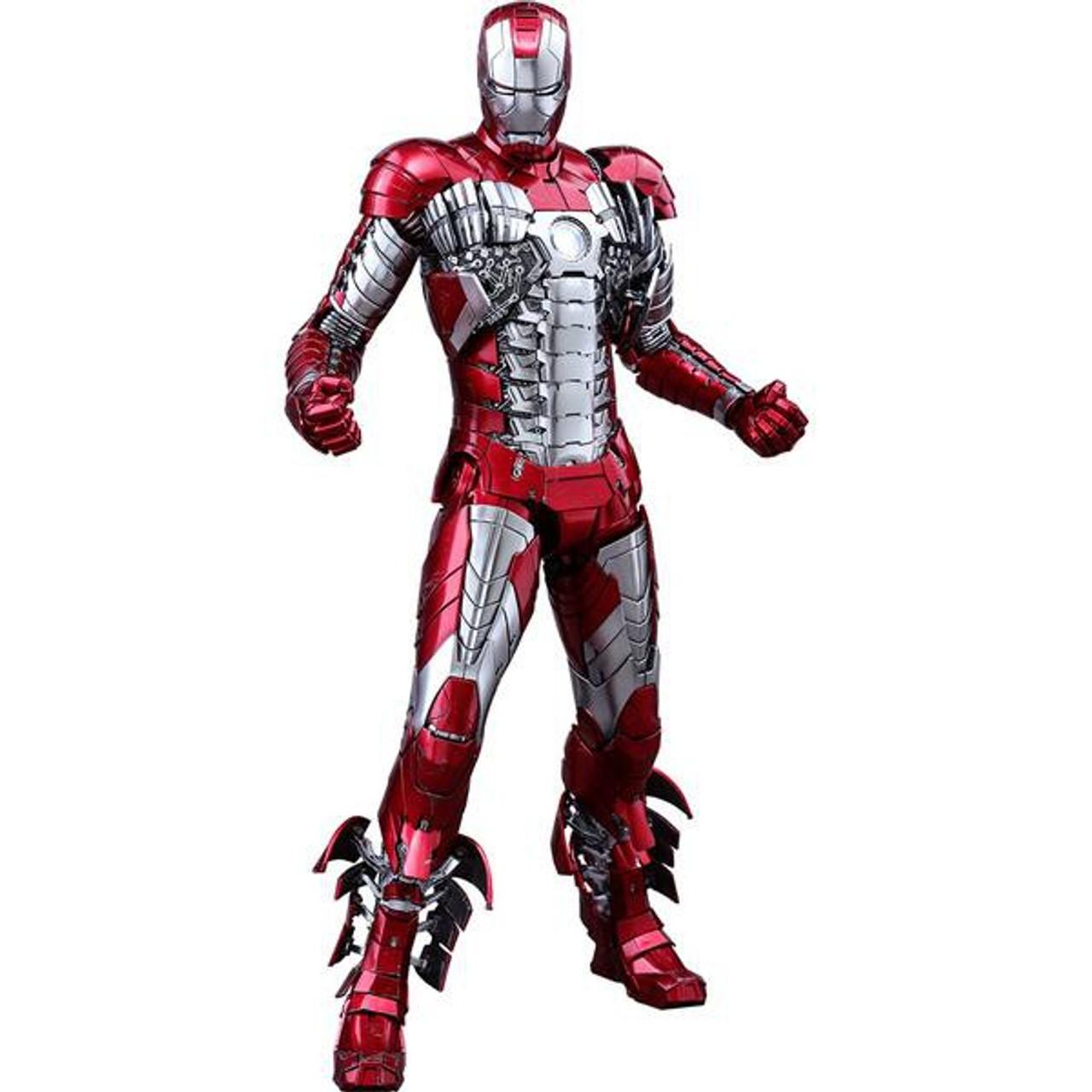 Marvel Iron Man 2 Movie Masterpiece Diecast Iron Man Mark V Collectible Figure (Pre-Order ships April)