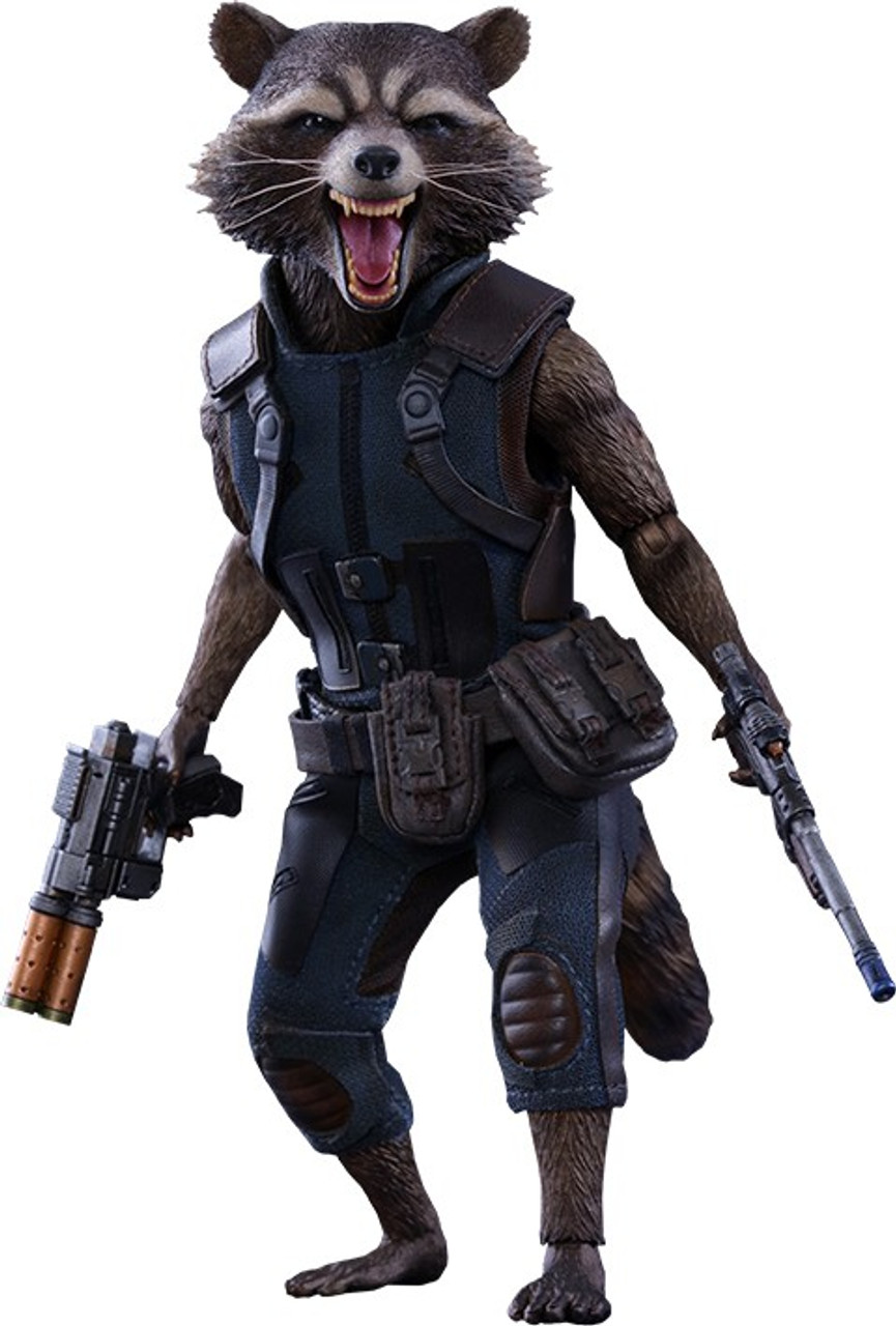 Marvel Guardians of the Galaxy Vol. 2 Movie Masterpiece Rocket 1/6 Collectible Figure [Vol.2] (Pre-Order ships January)