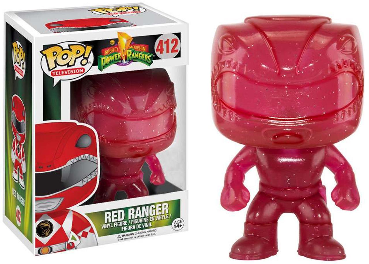 Funko Power Rangers Funko Pop Tv Red Ranger Exclusive