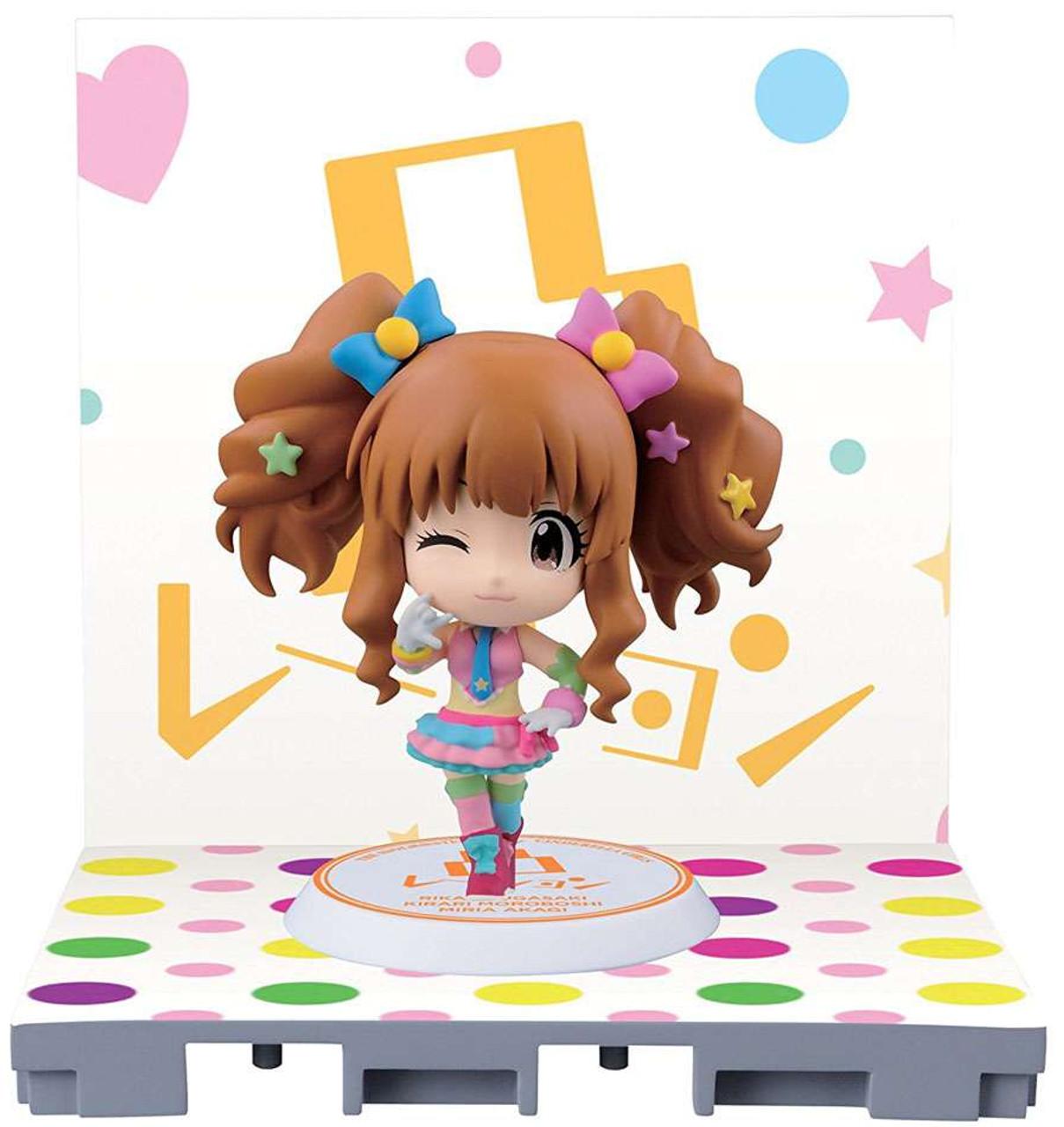 Idolmaster: Cinderella Girls Kirari Moroboshi 2.4-Inch Chibi-Kyun-Chara Figure [Let's Go Happy!]