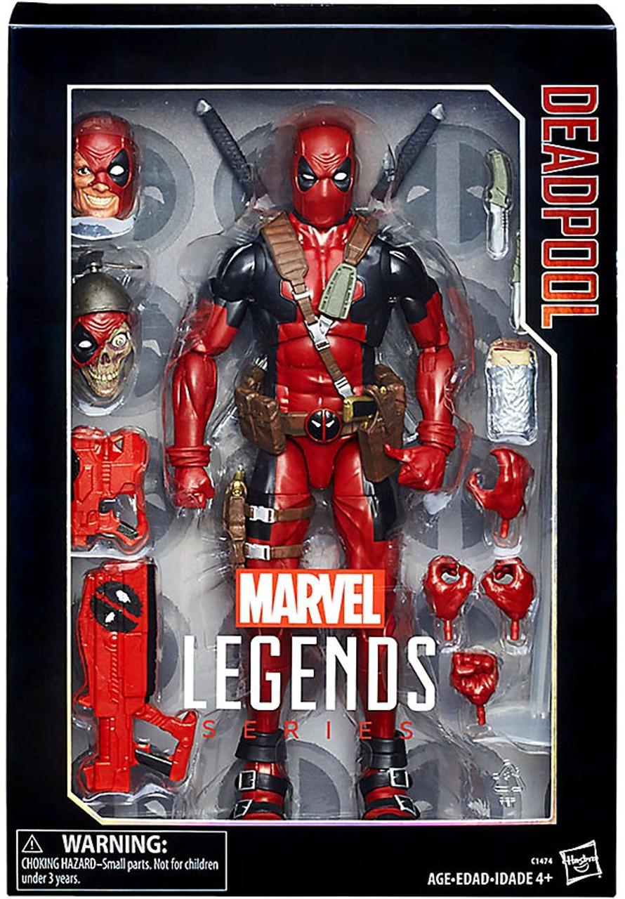 Marvel Marvel Legends Deadpool 12 Deluxe Collector Action ...