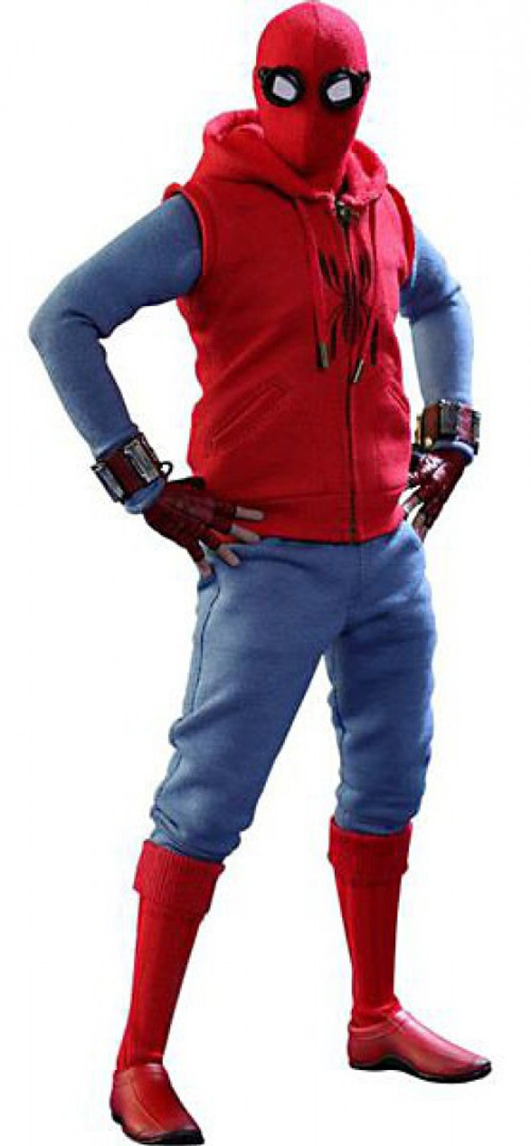 Marvel Spider-Man Homecoming Movie Masterpiece Spider-Man Collectible Figure [Homemade Suit Version]