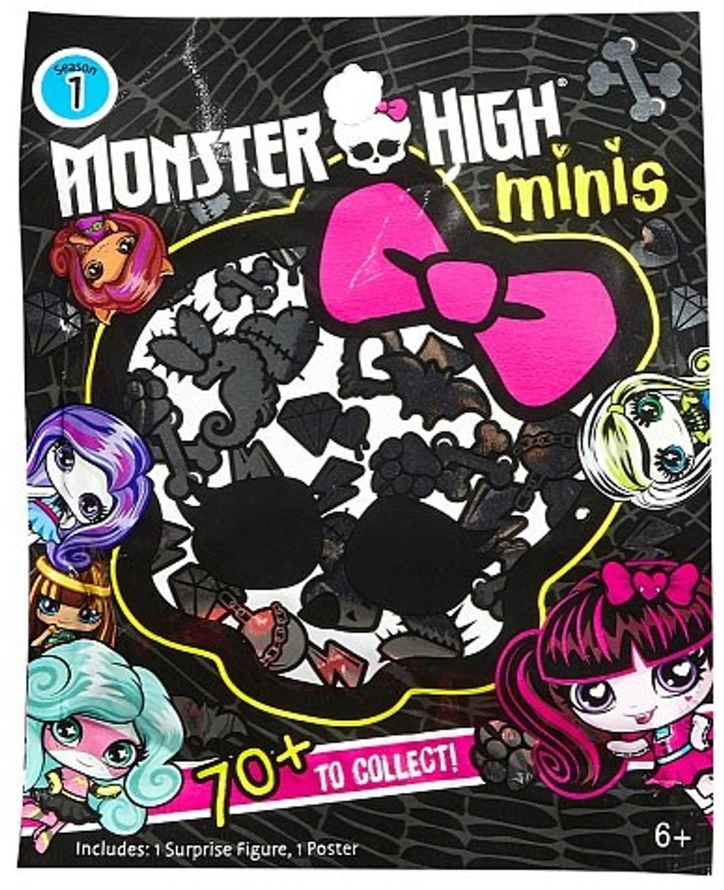 Monster High Minis Season 1 Mystery Pack Blind Bag Mattel