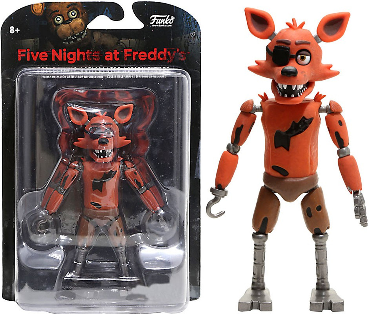 funko five nights at freddys foxy exclusive action figure glow in