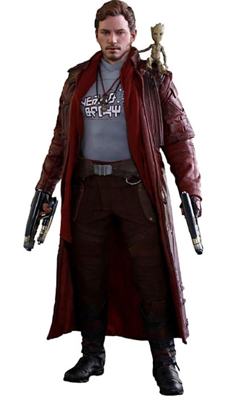 Marvel Guardians of the Galaxy Vol. 2 Movie Masterpiece Star-Lord 1/6 Collectible Figure [Deluxe Version]