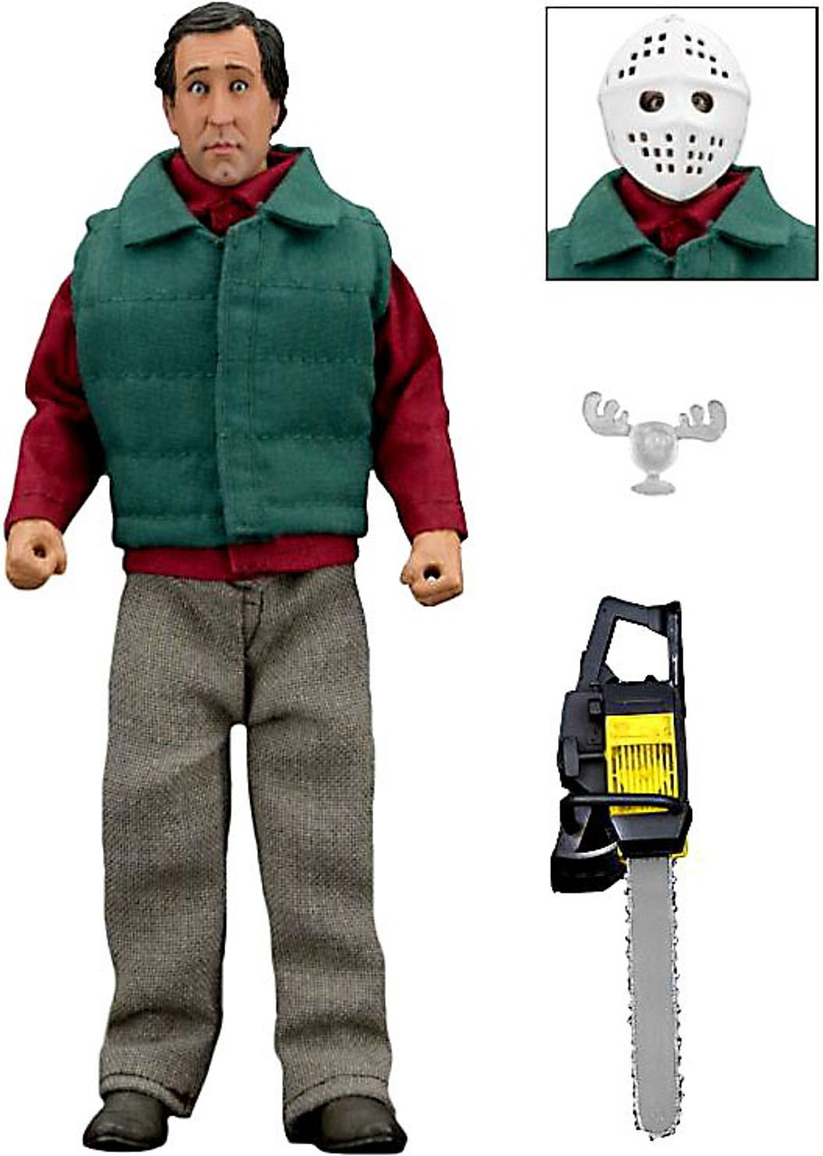 neca national lampoons christmas vacation chainsaw clark griswold clothed action figure - Clark Griswold Christmas Vacation