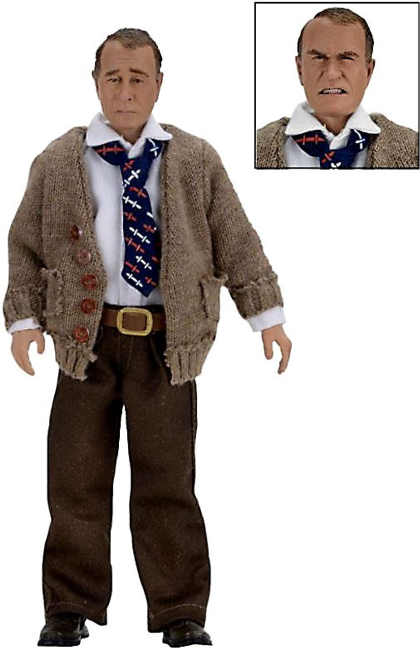 neca a christmas story old man clothed action figure