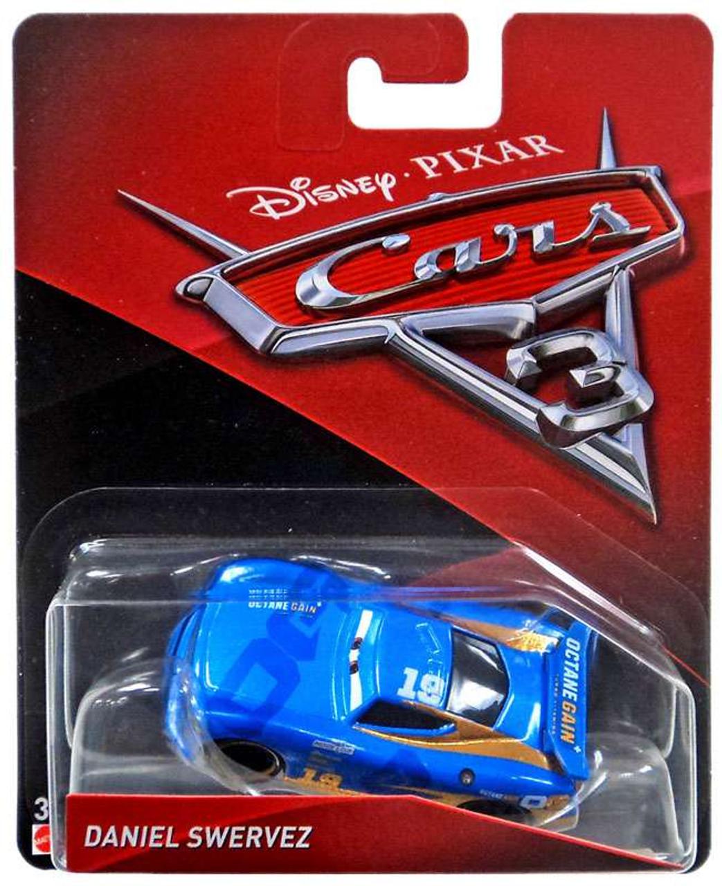 Disney Pixar Cars Cars 3 Daniel Swervez 155 Diecast Car Mattel Toys