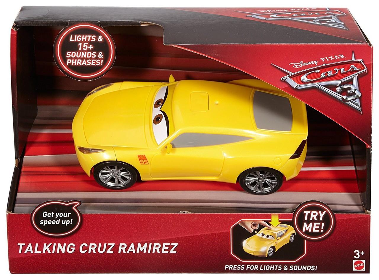 Disney Cars Cars 3 Cruz Ramirez 121 Talking Vehicle Lights