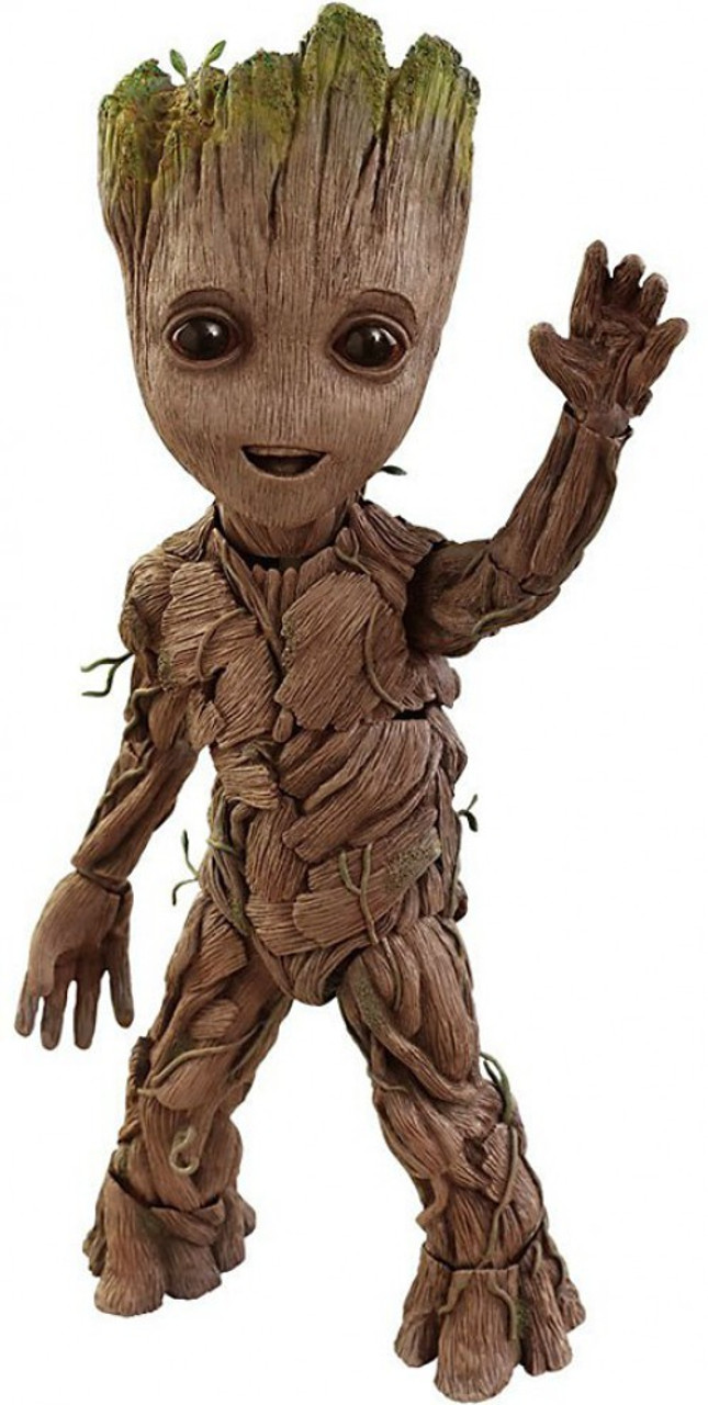Marvel Guardians of the Galaxy Vol. 2 Life Size Groot Collectible Figure