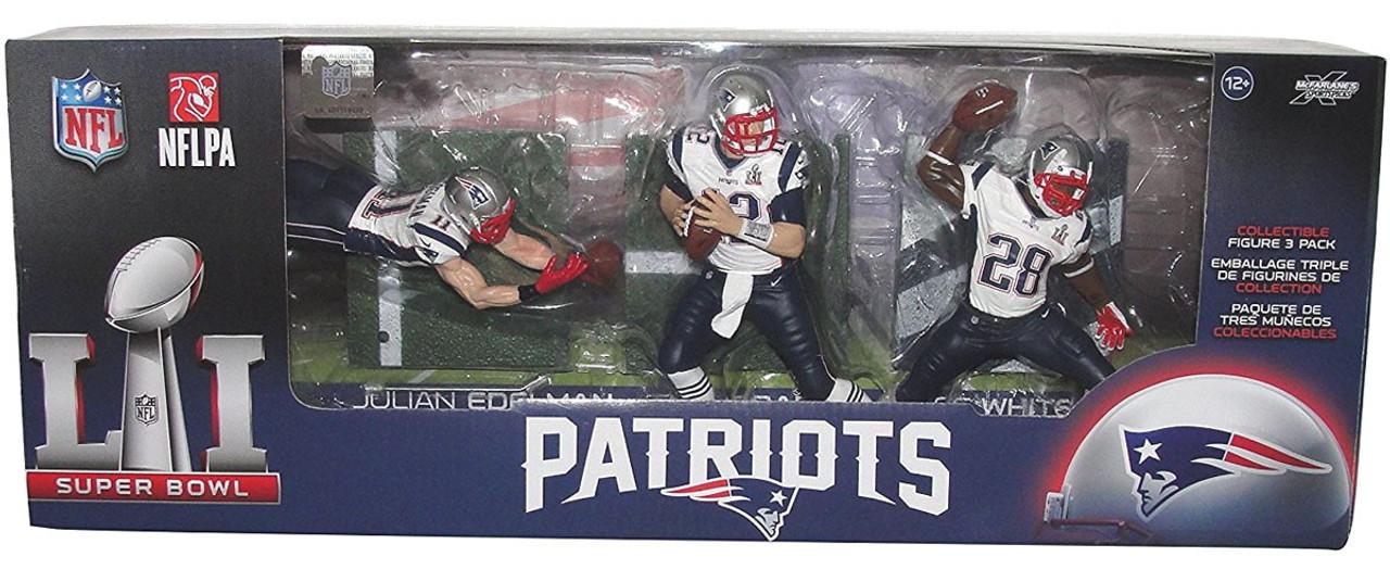 McFarlane Toys NFL New England Patriots Sports Picks Super Bowl LI ...