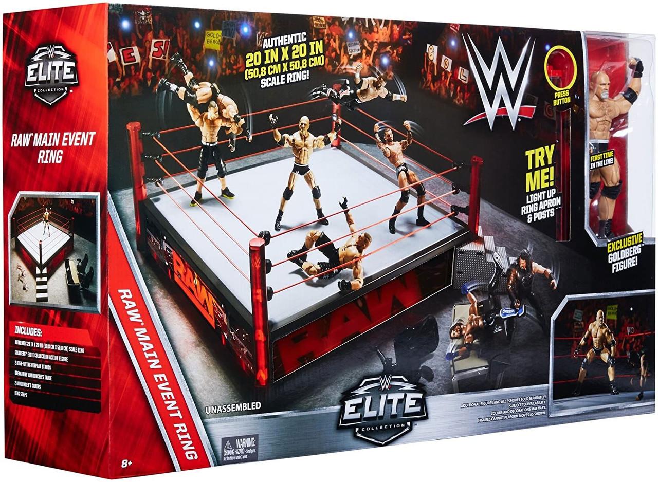 Wwe Elite Ring With Goldberg