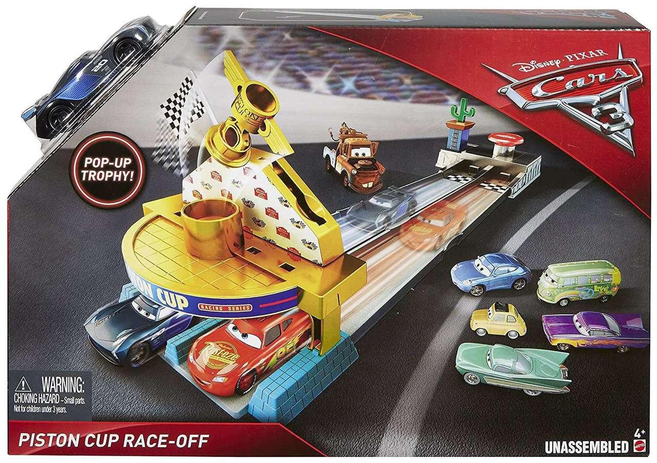 Disney Cars Cars 3 Piston Cup Race Off Playset Jackson