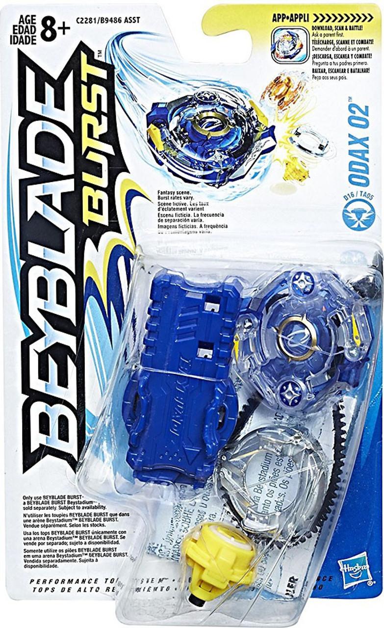 beyblade burst odax o2 starter pack hasbro toys toywiz