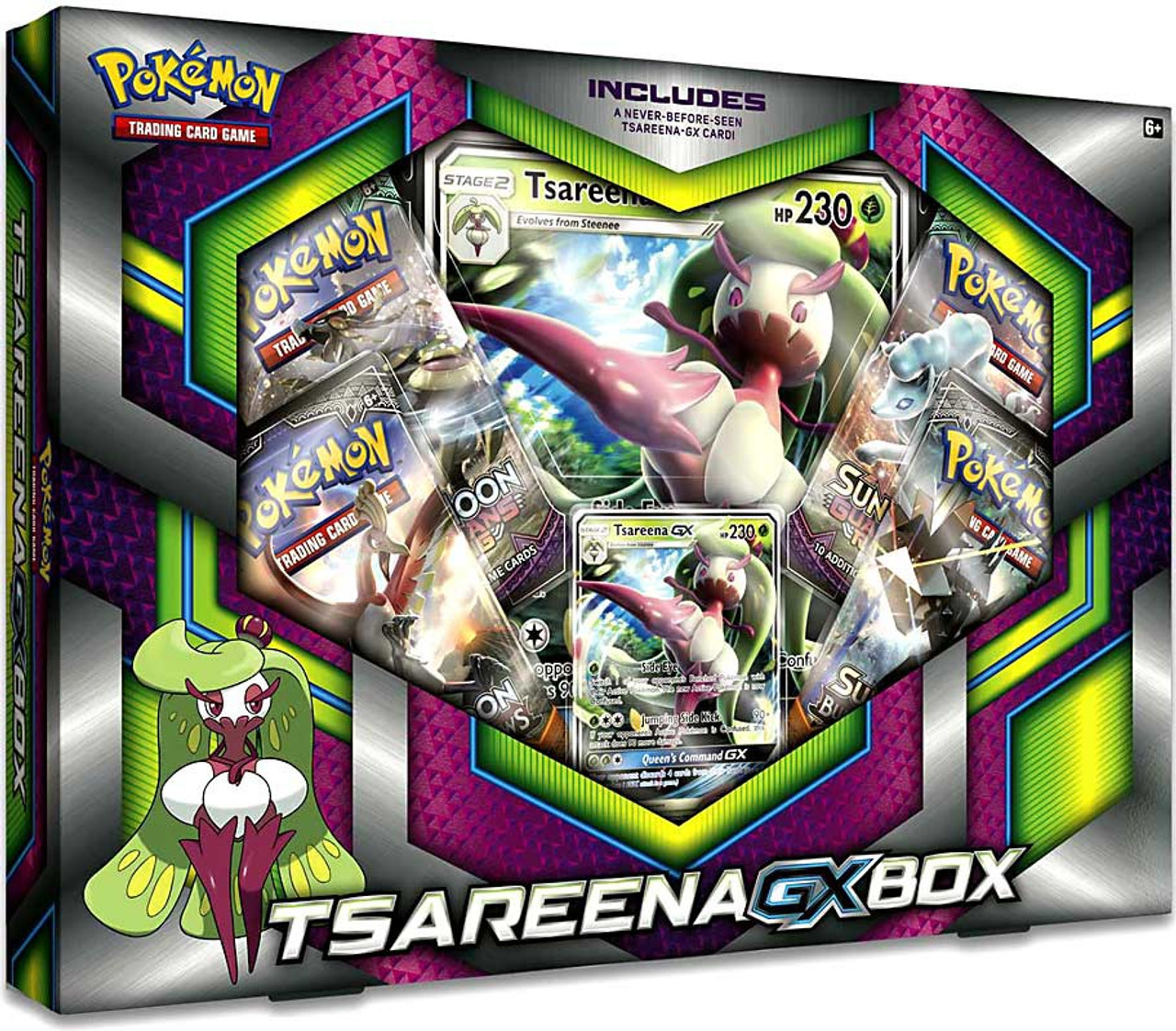 Pokemon Tsareena-GX Box Pokemon USA