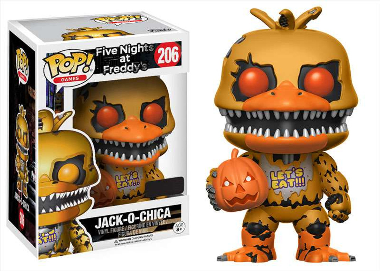 Funko Five Nights At Freddys Funko Pop Games Jack O Chica