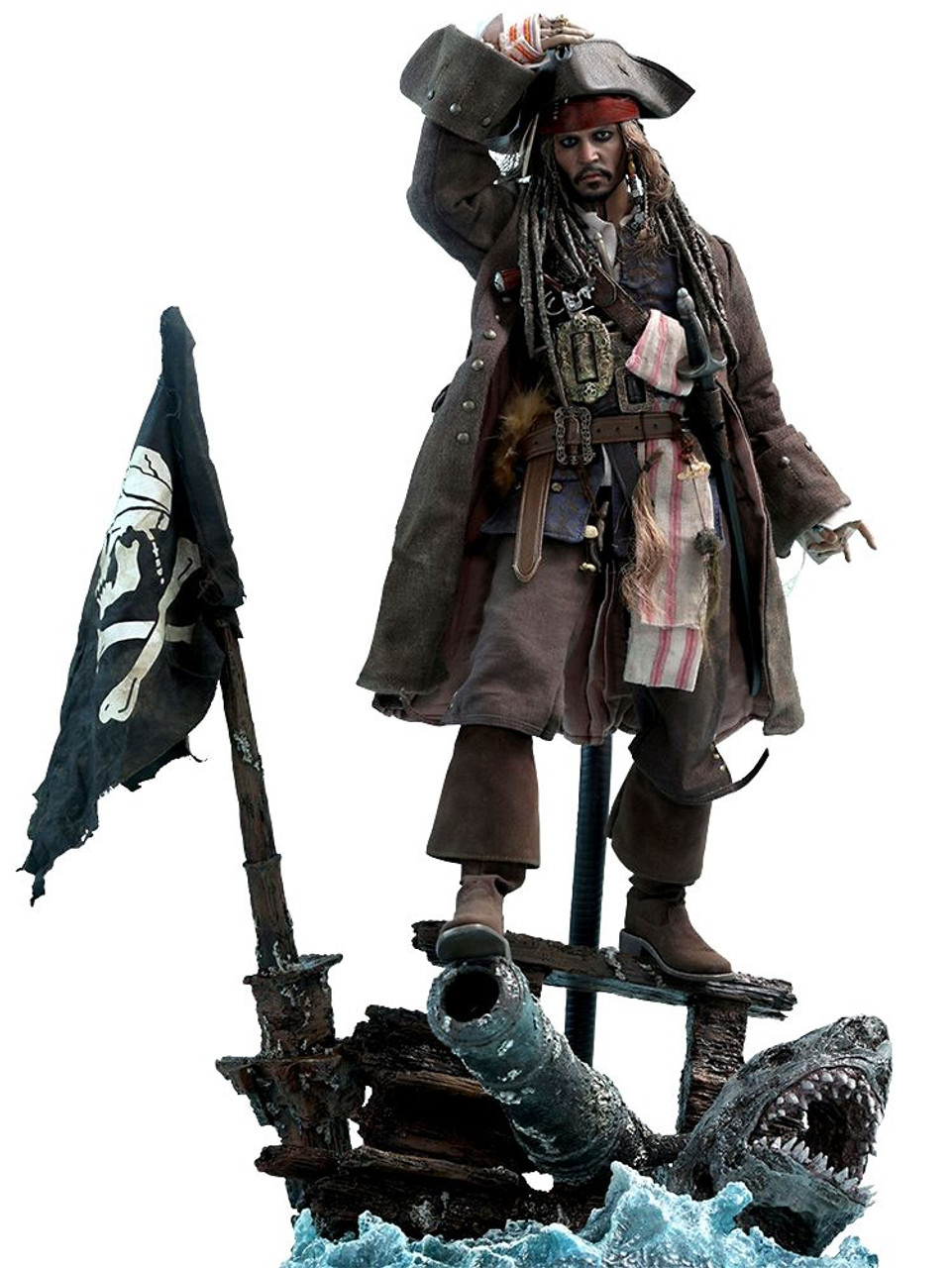 Pirates of the Caribbean Dead Men Tell No Tales Movie Masterpiece Captain Jack Sparrow Collectible Figure