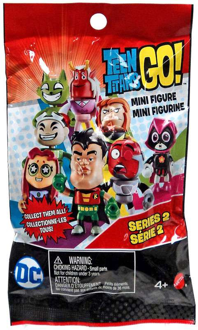 Teen Titan Character Toys : Teen titans go series mystery pack mattel