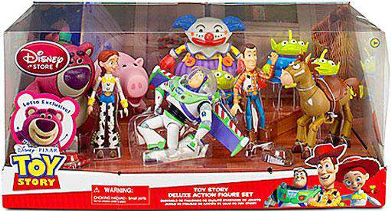 Toy Story Action Figures Set : Disney toy story toy story deluxe exclusive action figure set