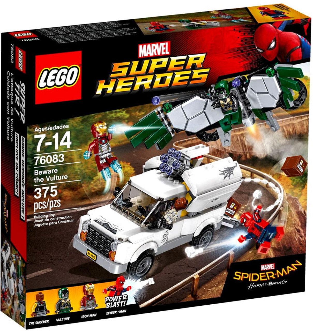 LEGO Marvel Super Heroes Spider-Man Homecoming Beware The Vulture ...