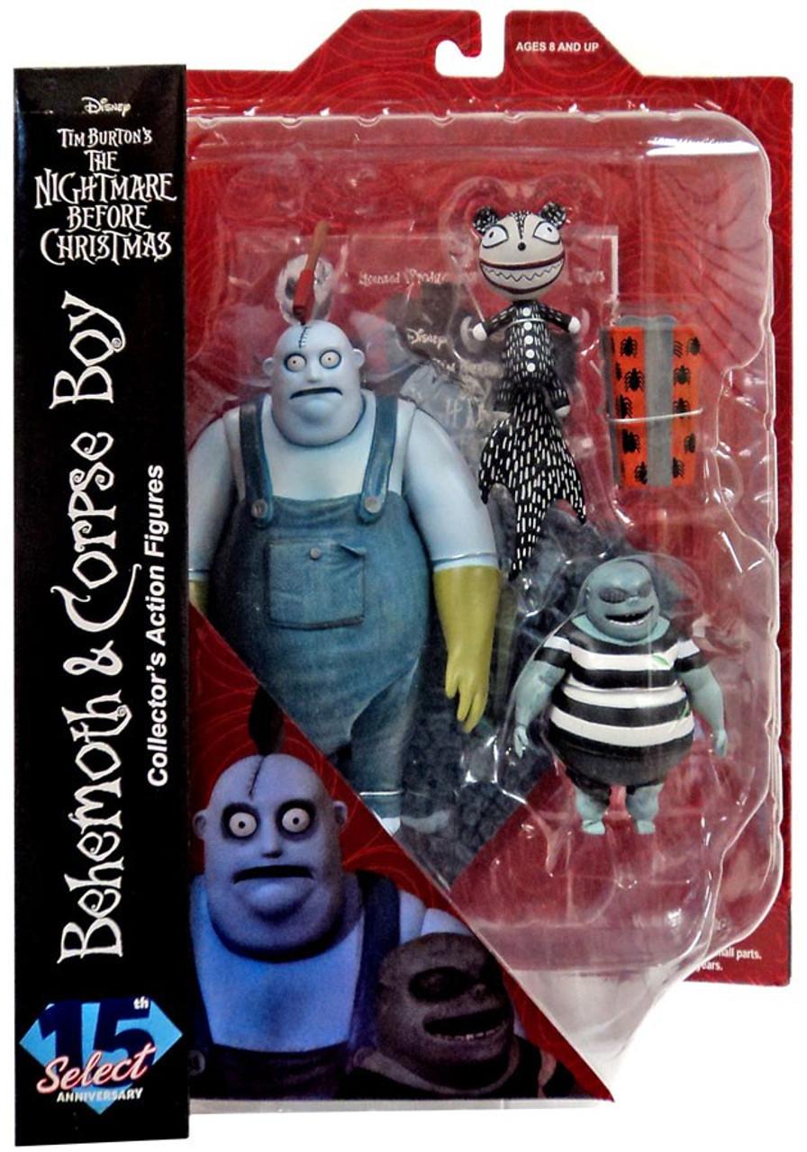 nightmare before christmas select series 4 behemoth with corpse kid action figure diamond select toys toywiz