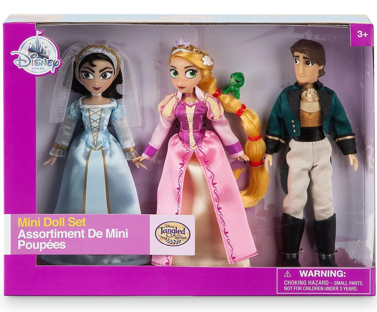 Disney Tangled The Series Rapunzel Cassandra Eugene Flynn Figure Exclusive 5 Inch