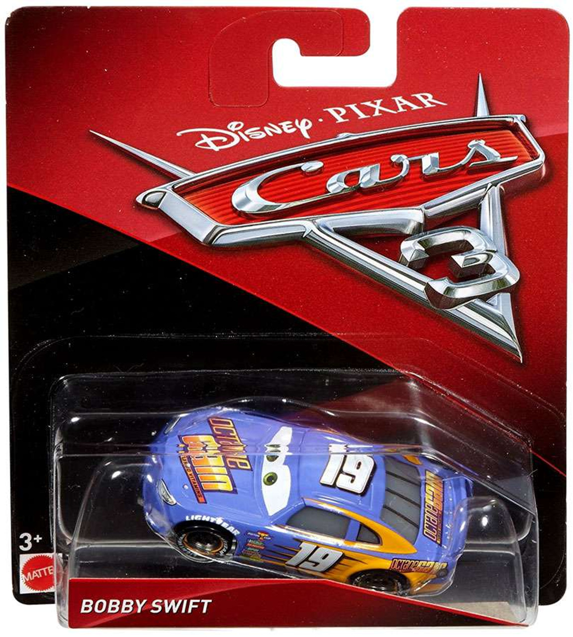 Disney Pixar Cars Cars 3 Bobby Swift 155 Diecast Car Mattel Toys