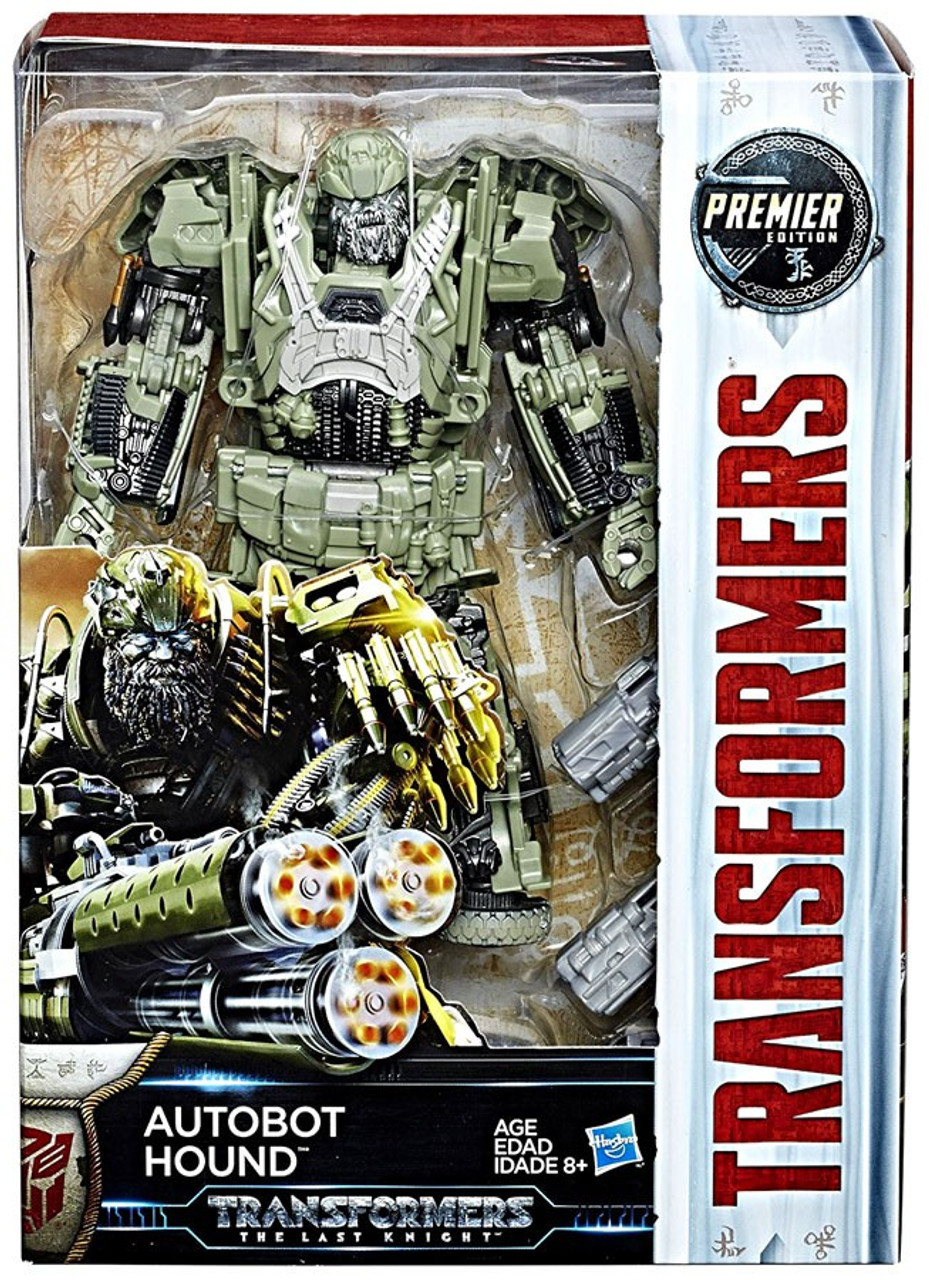 Transformers The Last Knight Autobot Hound Action Figure
