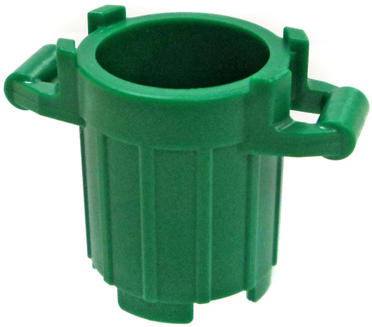 LEGO City Items Green Garbage Can Loose - ToyWiz