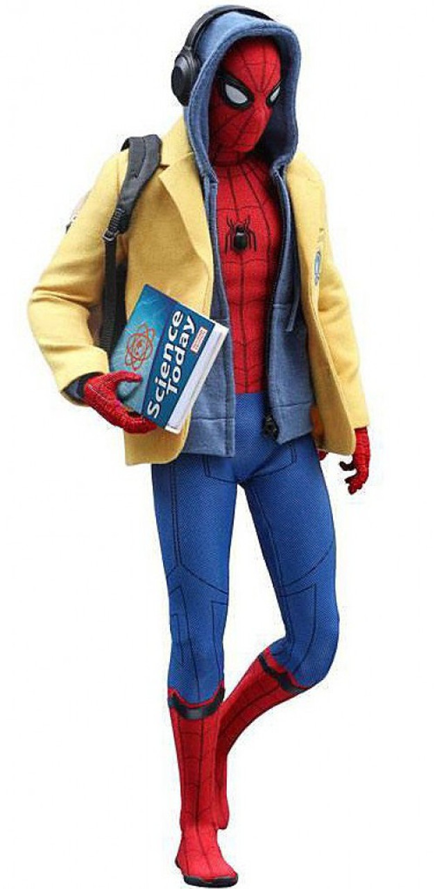 Marvel Spider-Man Homecoming Movie Masterpiece Spider-Man Collectible Figure [Deluxe Version] (Pre-Order ships April)
