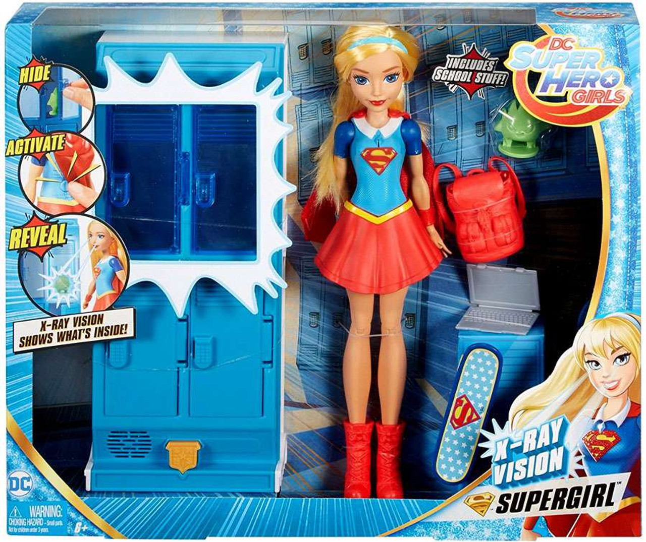 DC Super Hero Girls X-Ray Vision Supergirl Playset Mattel ...