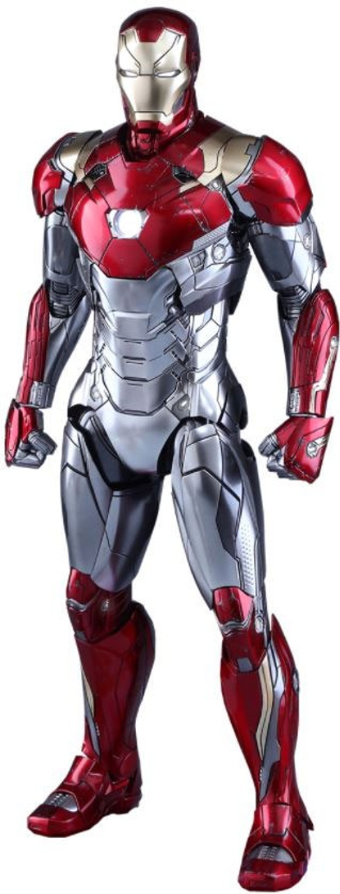 Marvel Spider-Man Homecoming Movie Masterpiece Diecast Iron Man Mark XLVII Collectible Figure