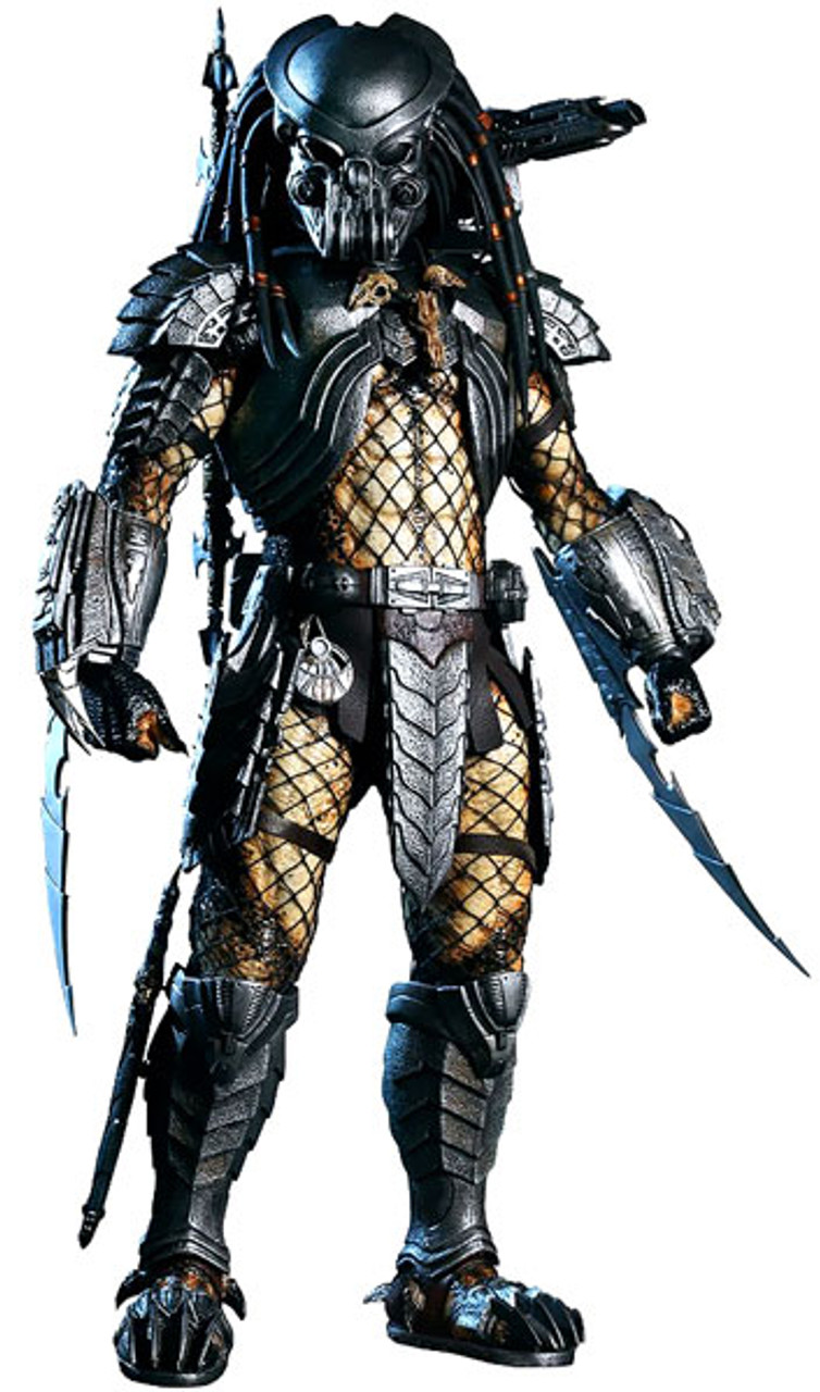 Alien vs Predator Movie Masterpiece Celtic Predator 1/6 Collectible Figure [Damaged Package, Mint Figures]