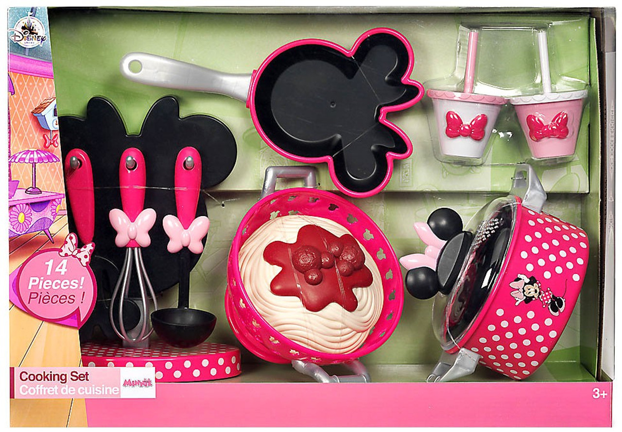Disney Minnie Mouse 2017 Cooking Set Exclusive Playset Set