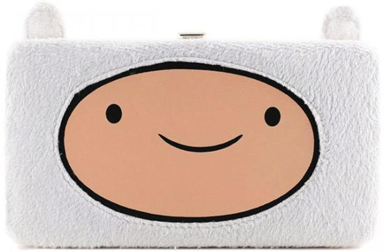 Adventure Time Happy Face Finn Hinge Wallet