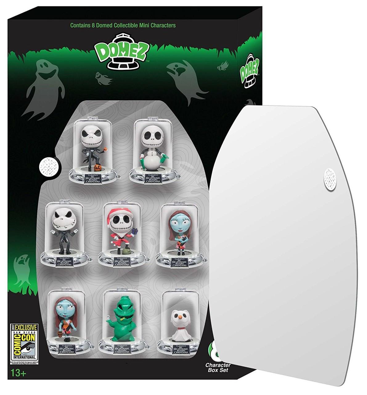 Disney Domez Nightmare Before Christmas Exclusive Figure 8-Pack UCC ...