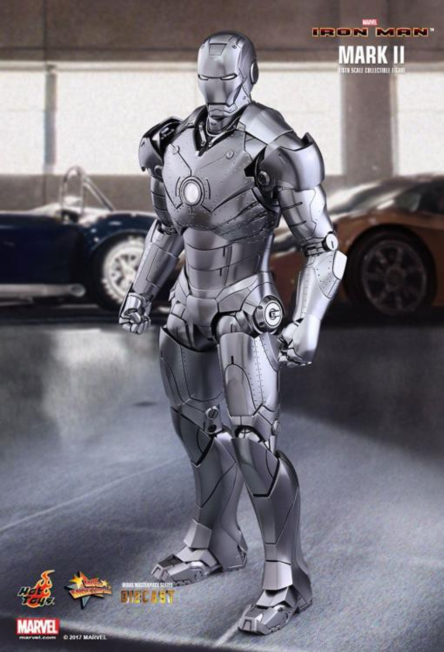 Marvel Iron Man 2 Movie Masterpiece Diecast Iron Man Mark II Collectible Figure (Pre-Order ships November)