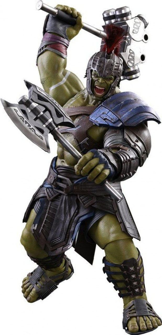 Marvel Thor Ragnarok Movie Masterpiece Gladiator Hulk Collectible Figure