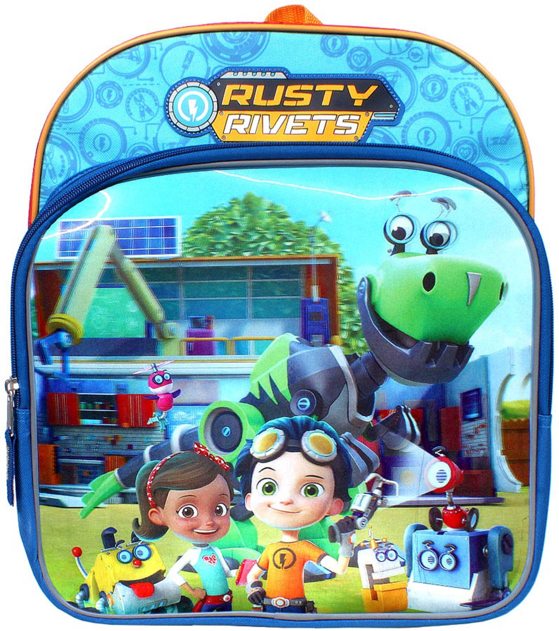 8 Toys Yeards : Nickelodeon rusty rivets yard of gadgets backpack