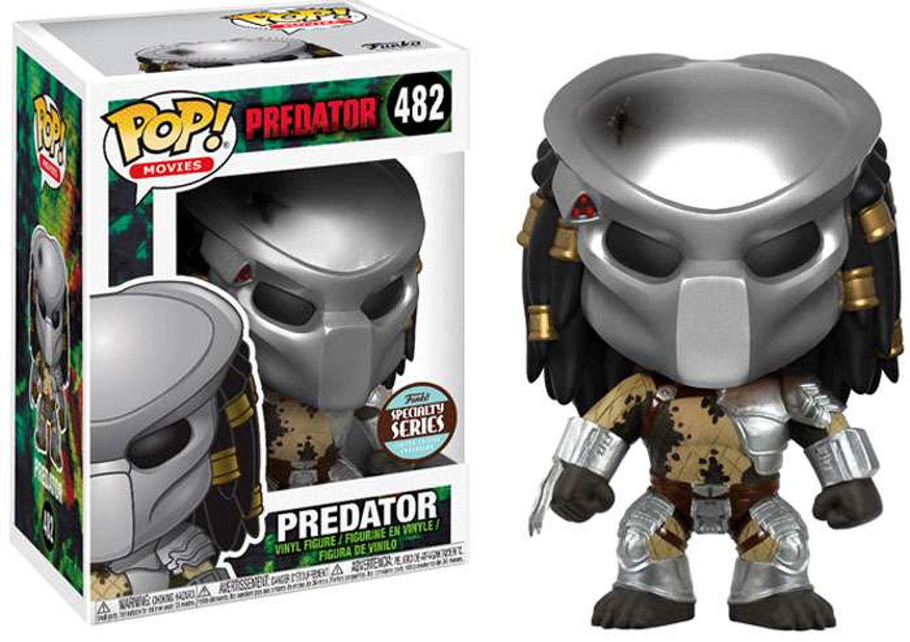 Funko Predator Funko POP Movies Predator Exclusive Vinyl Figure 482 ...