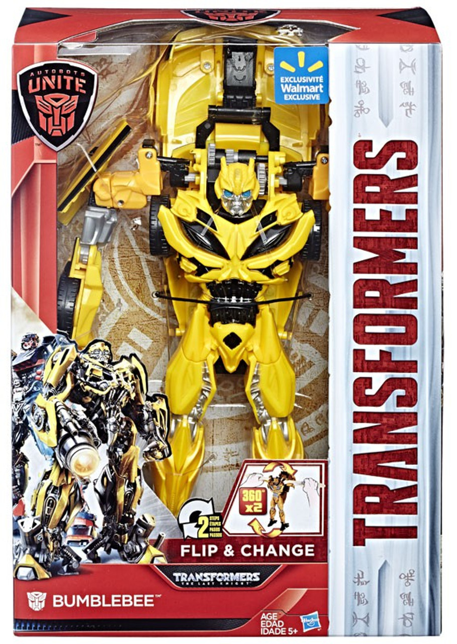 Transformers The Last Knight Autobots Unite Bumblebee Exclusive Action Figure [Flip & Change]