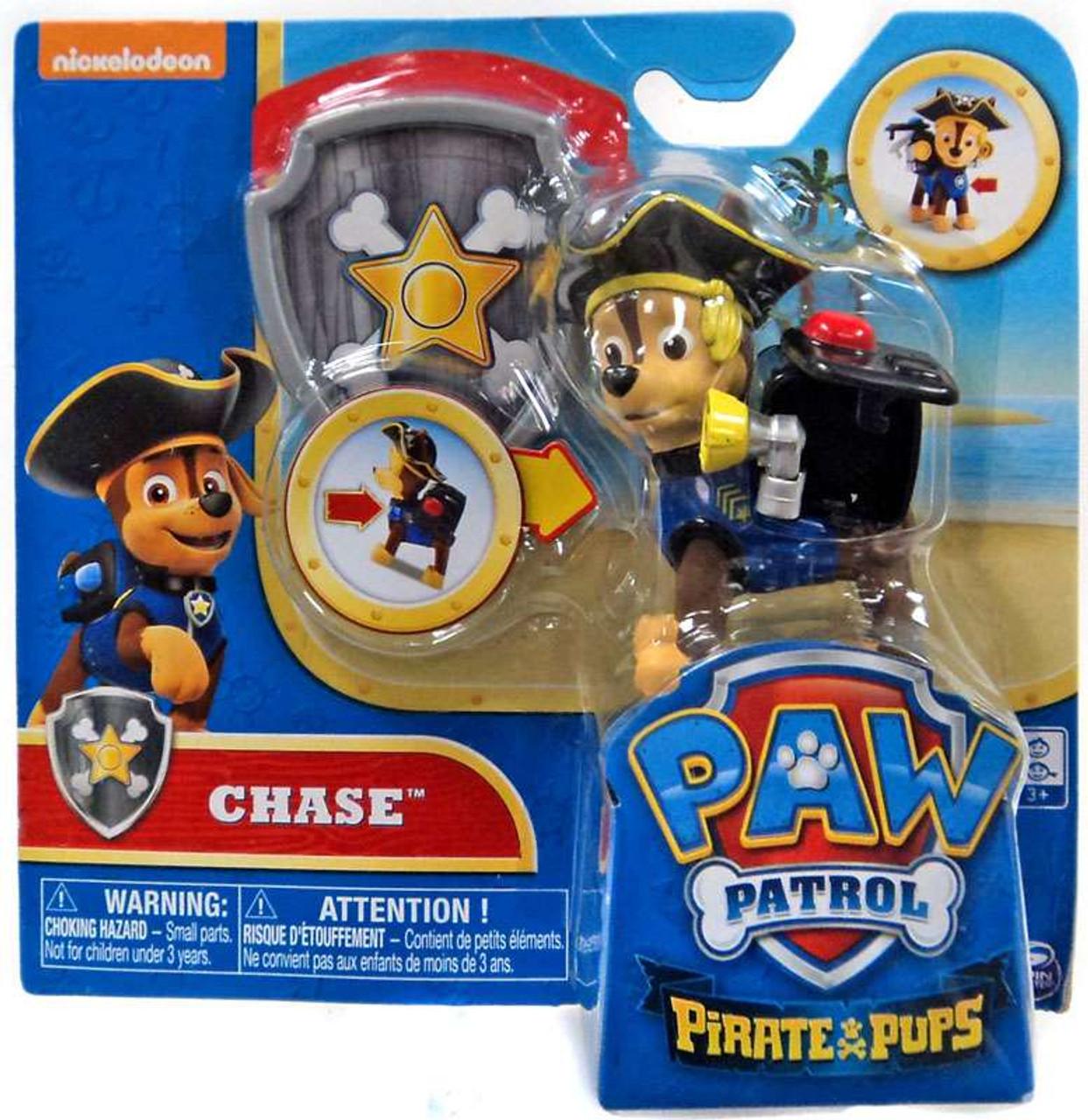 Paw Patrol Pirate Pups Chase Figure Spin Master - ToyWiz