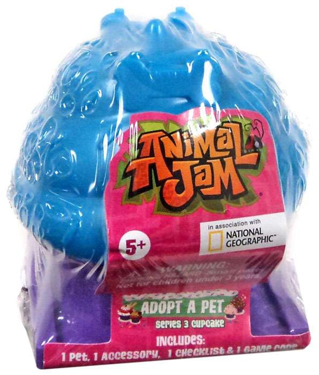Animal Jam Adopt A Pet Series 3 Cupcake Mystery Pack Random Color