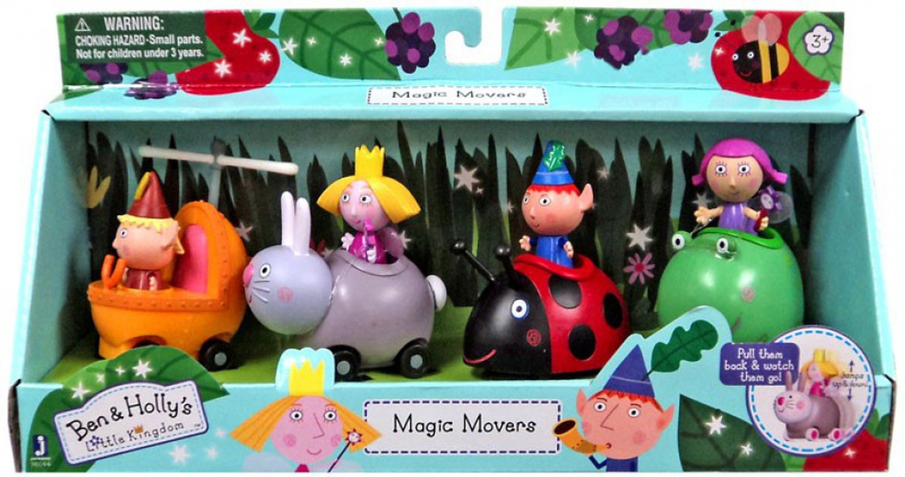 ben hollys little kingdom magic movers exclusive figure 4 pack