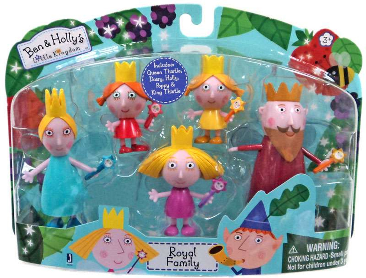 ben hollys little kingdom royal family exclusive mini figure 5 pack
