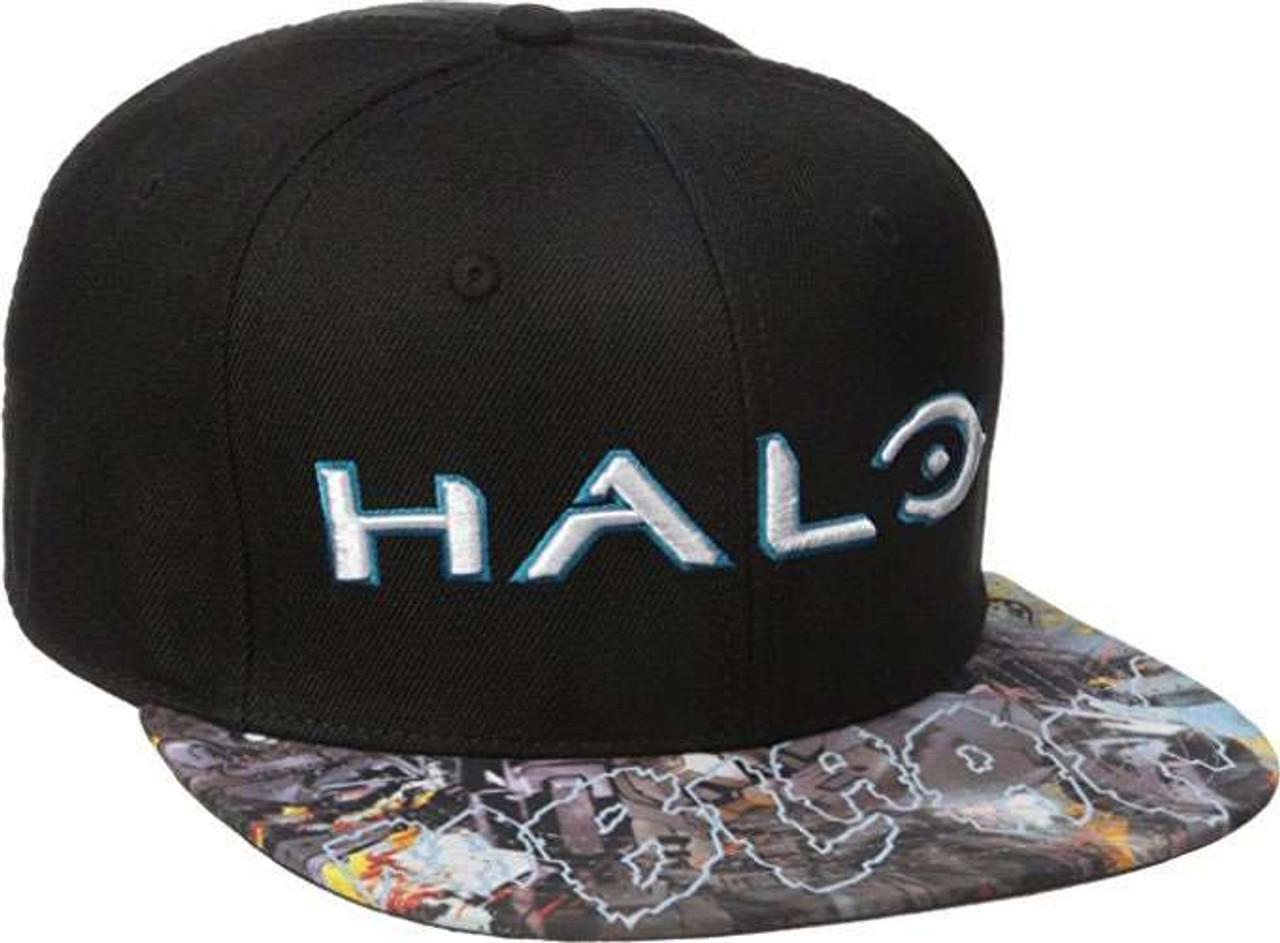 b13553fdd1d Halo Halo Comic Helljumper Snapback Cap Apparel Bioworld - ToyWiz