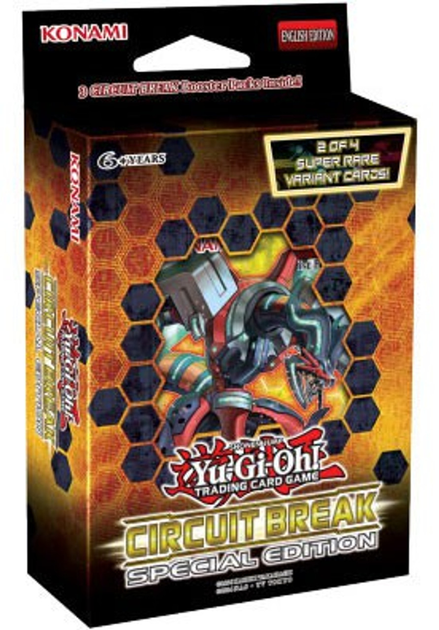 YuGiOh Circuit Break Special Edition Pack