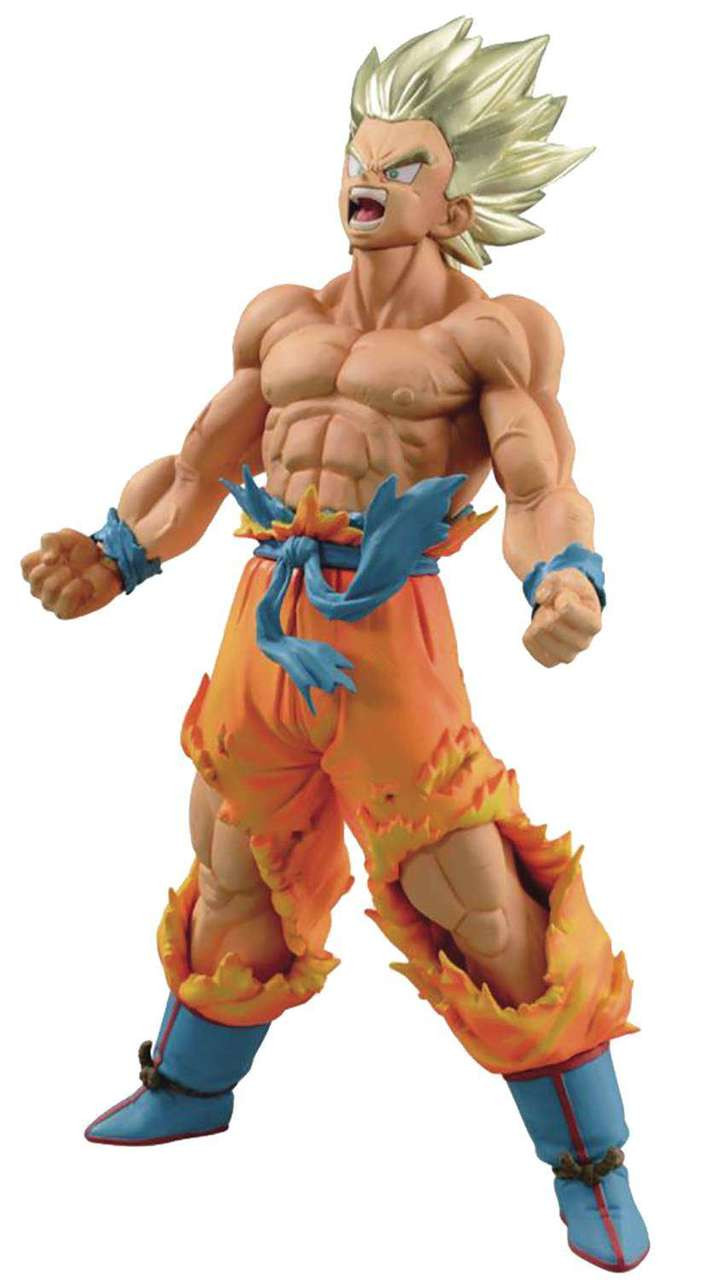 dragon ball z blood of saiyans super saiyan goku 7 1 pvc figure