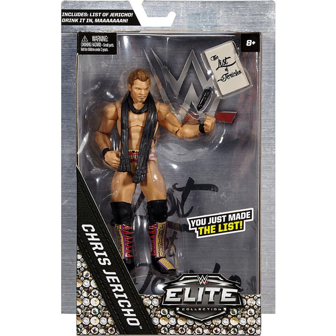 Toys For Chris : Wwe wrestling elite chris jericho exclusive action